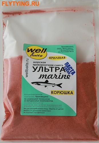 Well Baits 66026 Прикормка Ультра Marine сухая паста, 250г (фото)