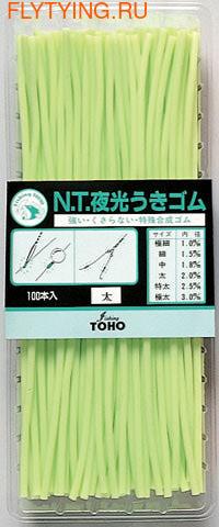 Toho 52202 Светящиеся трубочки Luminous Rubber Tube (фото)