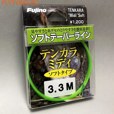 Fujino 10657 Шнур для тенкары Tenkara Midi Soft Tip (фото, Fujino 10657 Шнур для тенкары Tenkara Midi Soft Tip)