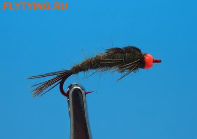 Pacific Fly Group 14111 Мушка нимфа Jenning's Hot Skawala (фото)