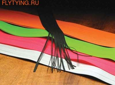 Hareline 58100 Резиновые ножки Fine Round Rubber Legs