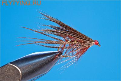 Rusangler 13005 Мокрая мушка Dabbler-Fiery Brown