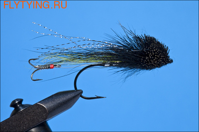 Rusangler 15066 Мушка стример Jambo Surface Lure Tandem Hook