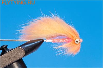 Rusangler 16032 Лососевая мушка Babe Beast Peachy Pink