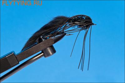 Rusangler 16056 Лососевая мушка GW Glory Steelhead Black (фото)