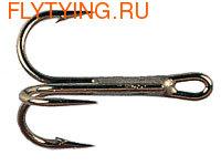 Kamasan 60067 Крючок тройной B990 Fly Hook - Tube Fly Treble