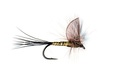 Pacific Fly Group 11092 Сухая мушка Hackle Wing Mayfly Green Drake
