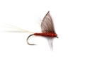 Pacific Fly Group 11096 Сухая мушка Hackled Wing Mayfly Mahagony