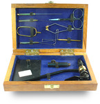 Gulam Nabi 41341 Набор инструментов в деревянной коробке COACHMAN TOOLS KIT