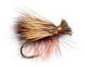 Pacific Fly Group 11122 Сухая мушка Elk Hair Caddis Olive