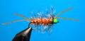 A.Jensen 15124 Мушка стример Hot Head Bugger Orange