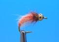 Mikkus & Caddis 14217 Мушка нимфа ручейника BH Fluffy Caddis Larva Orange