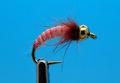 Mikkus & Caddis 14218 Мушка нимфа ручейника GH Caddis Larva Bloody Pink