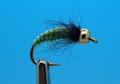 Mikkus & Caddis 14221 Мушка нимфа ручейника GH Caddis Larva Green Olive