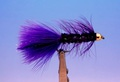 Pacific Fly Group 15364 Мушка стример BH Kristal Bugger Purple