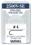 VARIVAS 60554 Крючок одинарный 2500V-SE Streamer Straight Eye