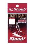 Shout 60651 Ассист крючки Light Game Assist Hook
