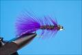 Rusangler 15046 Мушка стример Bead Head Peacock Bugger Passion