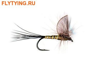 11092 Сухая мушка Hackle Wing Mayfly Green Drake