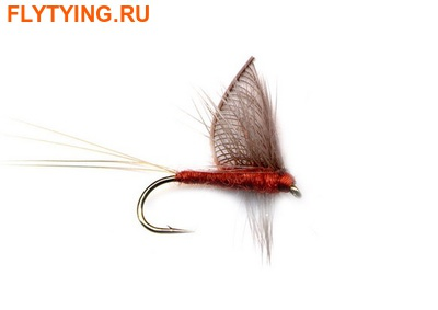 11096 Сухая мушка Hackled Wing Mayfly Mahagony