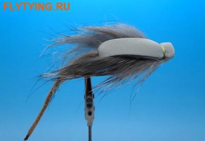 11022 Сухая мушка Foam Faked Mouse Gray