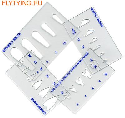 41161 Трафареты для крылышек Life Cycle Wing Stencils Set