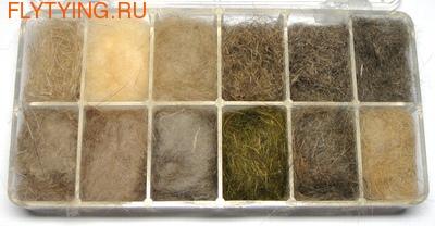 57153 Набор даббингов Natural Furs Dubbing Dispenser
