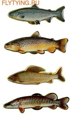 93064 Значок Pin Fish