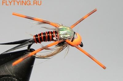 14062 Мушка нимфа Hot Head - Orange