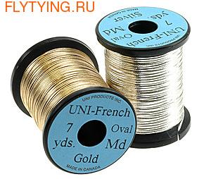 54010 Овальный люрекс UNI-FRENCH OVAL