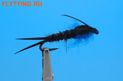 14412 Мушка нимфа Winter Stone Black