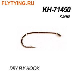 60182 Крючок одинарный KH-71450 DRYFLY OR LIGHT NYMPH