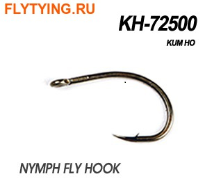 60183 Крючок одинарный KH-72500 NYMPH FLY HOOK