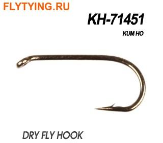 60184 Крючок одинарный KH-71451 DRY FLY