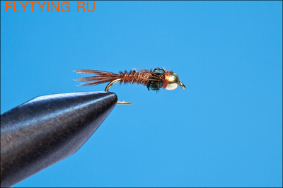 14150 Мушка нимфа Tungsten Flashback Pheasant Tail