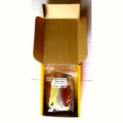 4Trouts 59509 Набор материалов для вязания мушек из меха оленя Muddler-Goddard Flies Set (фото, вид 2)