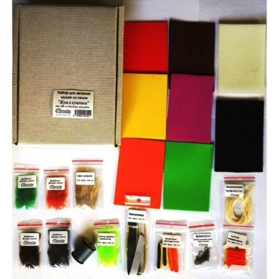 4Trouts 59511 Набор материалов для вязания мушек из пенки Foam Flies Set (фото, вид 1)