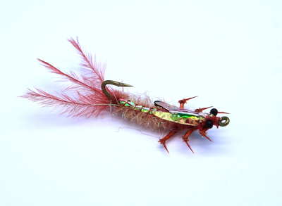 Artflies 14390 Мушка нимфа Realistic Isonychia Nymph (фото, вид 1)