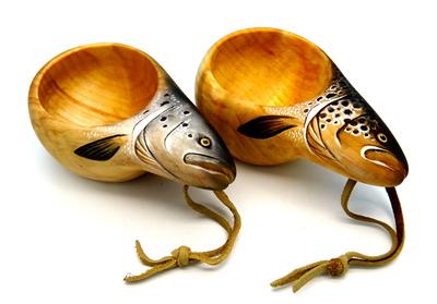 93065 Деревянная финская кружка Wooden Kuksa (фото, вид 4)