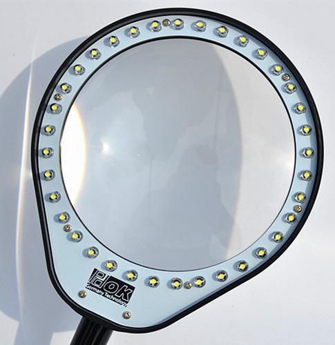 PDOK 41538 Портативное увеличительное стекло с подсветкой Clip Led Lights Bendable Magnifier (фото, вид 1)