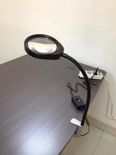 PDOK 41538 Портативное увеличительное стекло с подсветкой Clip Led Lights Bendable Magnifier (фото, вид 2)