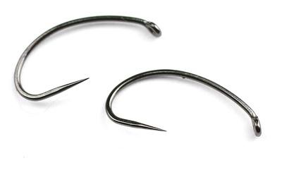 Hends Products 60228 Крючок одинарный HP Shrimp, Pupa Barbless Black Nickel BL500 BN (фото, вид 1)