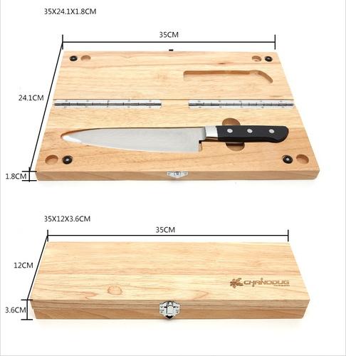 ChanoDug 81426 Нож Oak Knife Box Set (фото, вид 4)