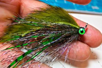 Hareline 55109 Блестящая тесьма Senyo's Barred Predator Wrap (фото, вид 2)