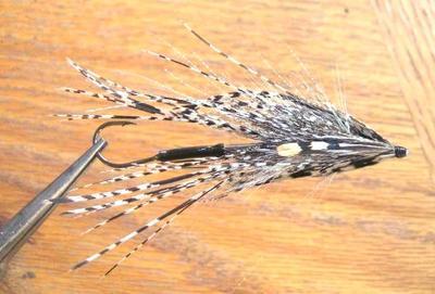 Hareline 53114 Центральное хвостовое перо алмазного фазана Lady Amherst Center Tail Feather (фото, вид 1)