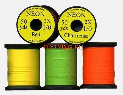 UNI 51063 Монтажная нить Neon 1/0 (фото, вид 1)