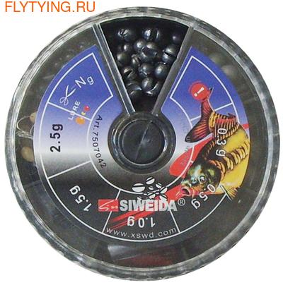 Siweida 21402 Набор грузил Caliber Sinkers Set (фото, вид 1)