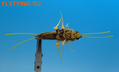 Pacific Fly Group 14005 Мушка нимфа веснянки Realistic Stone Golden