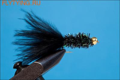 Rusangler 14158 Мушка нимфа FRITZ BLACK LONG SHANK