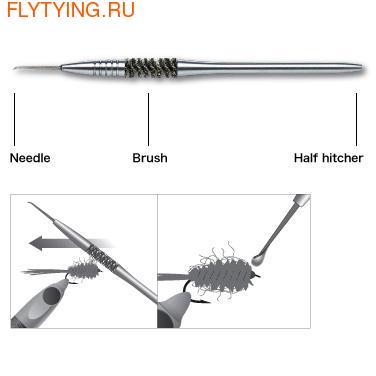 C&F Design 41146 Даббинговая игла 3-in-1 Dubbing Brush